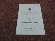 1983 Final - Darwen v Skelmersdale United